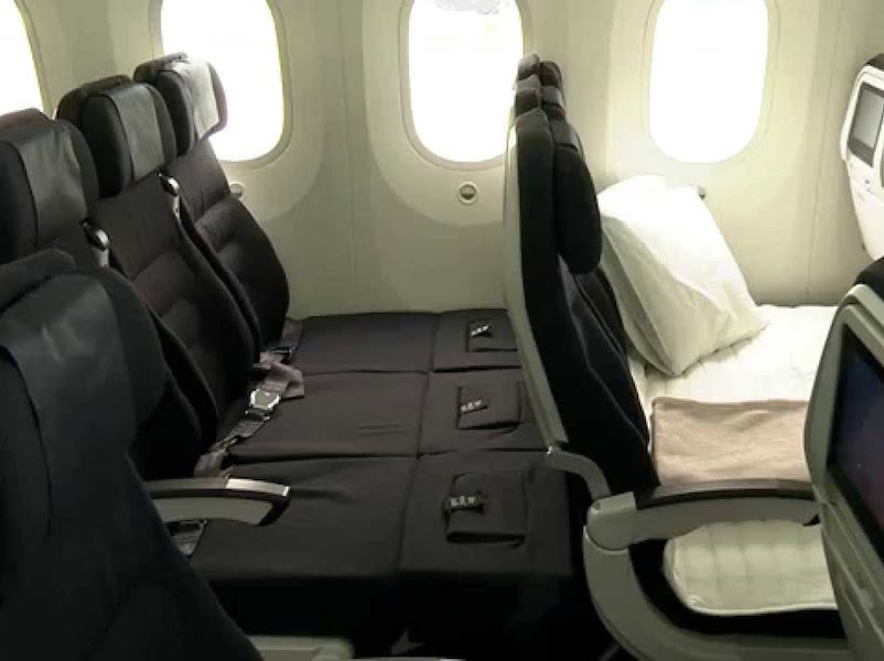 Save 50 On Economy Skycouch With Air New Zealand Luxury