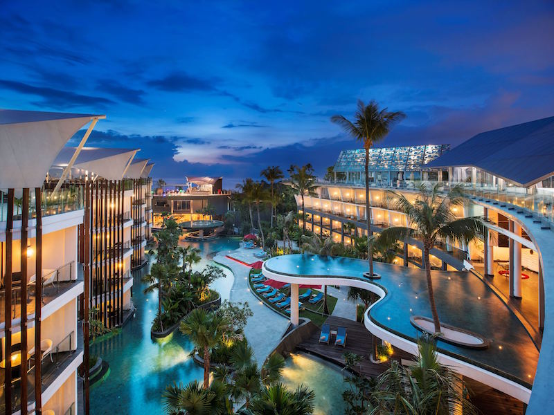 Romance package at sheraton bali kuta resort luxury for Best hotels in bali